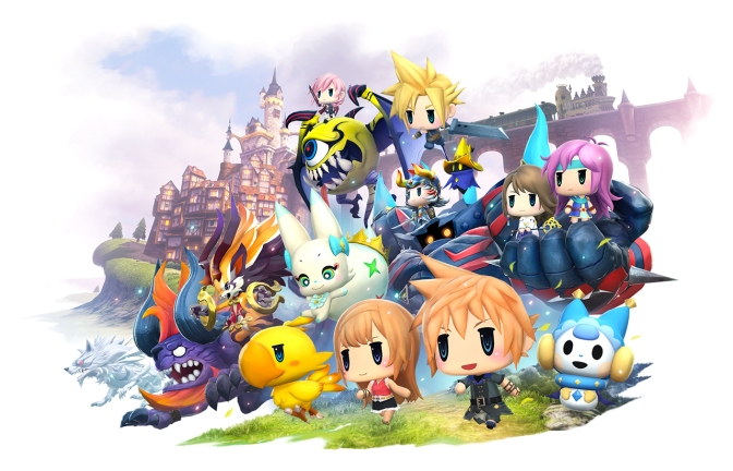 The World of Final Fantasy demo is on PSN; Final Fantasy tries to Pokemon