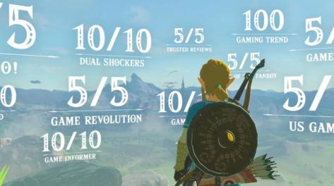 The Legend of Zelda: Breath of the Wild review scores