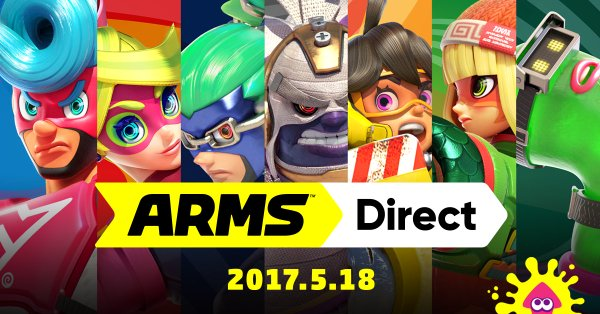 ARMS focused Nintendo Direct coming May 17