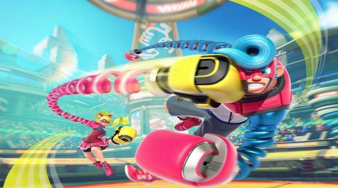ARMS will be Nintendo's next Splatoon-like success