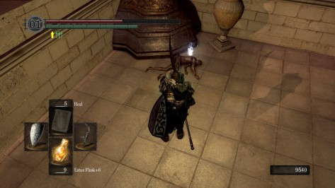 Black Iron Tarkus Corpse Dark Souls