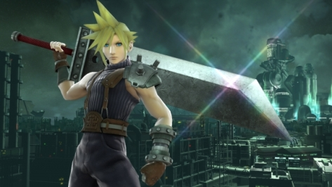 Cloud Strife in Smash