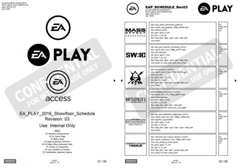 Fake E3 Leaks EA