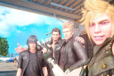 Final Fantasy XV Bro Trip Selfie