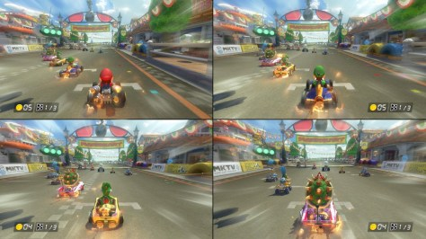 Mario Kart 8 Deluxe Split Screen