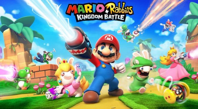 Mario + Rabbids Kingdom Battle key art