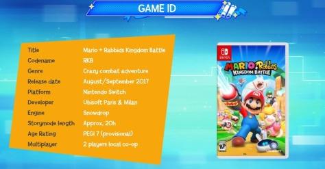 Mario + Rabids Kindgom Battle Ubisoft