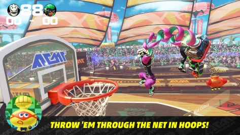 Nintendo Switch ARMS Direct Hoops