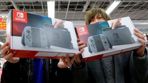 Nintendo Switch Sales Japan