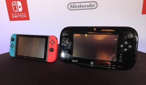 Nintendo Switch Wii U comparison