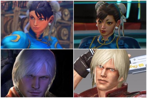 Ugly Chun li and Dante