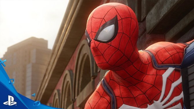 Insomniac Spider-Man Sony E3 2017 PS4