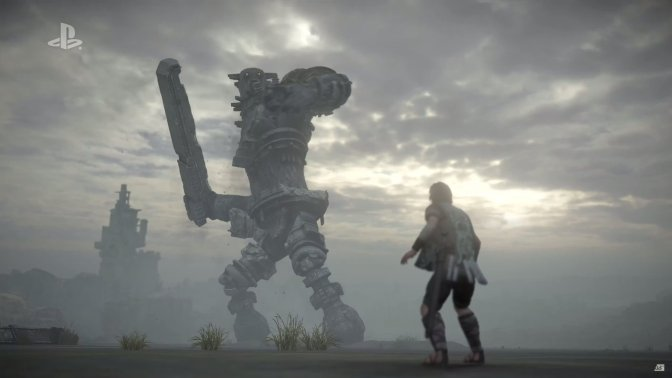 Shadow of the Colossus Sony E3 2017 PS4 SotC Remake