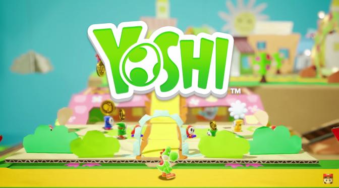 Yoshi Nintendo Spotlight E3 2017 Nintendo Switch