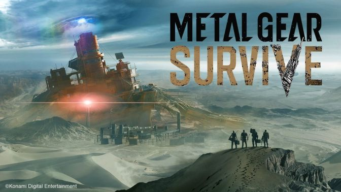 Metal Gear Survive Konami Sucks