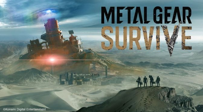 E3 2017: Metal Gear Survive delayed until 2018