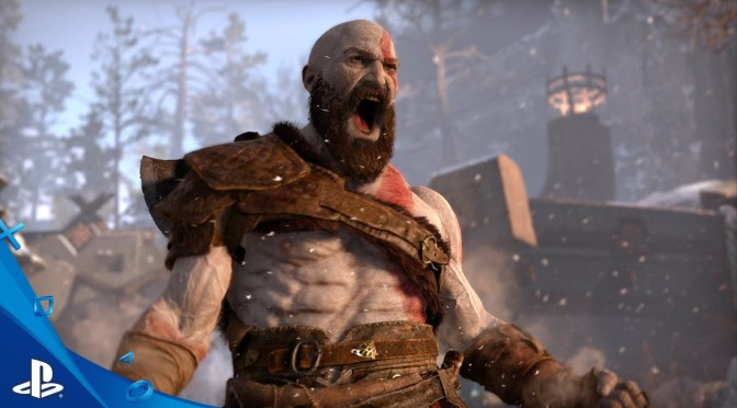 E3 2017: Sony shows off God Of War