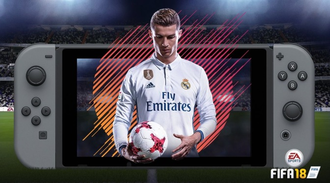 FIFA 18 is coming to the Nintendo Switch