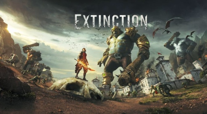 Iron Galaxy announces Extinction, a hack-and-slash titan-fest