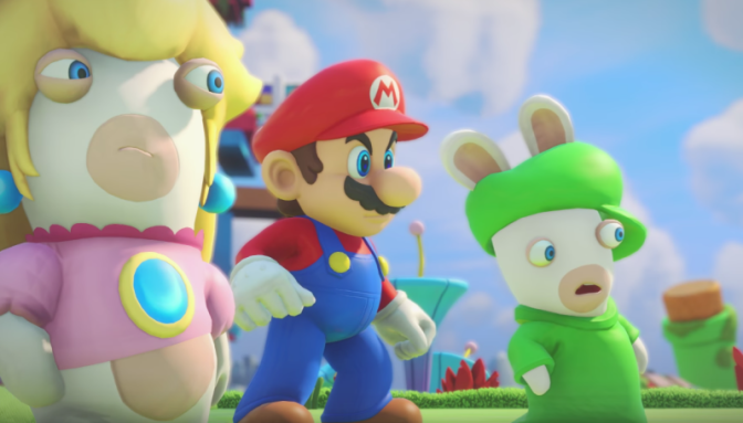 E3 2017: Ubisoft (Officially) reveals Mario + Rabbids Kingdom Battle