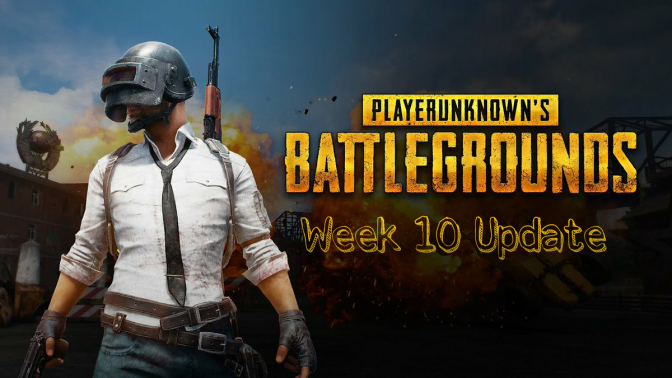Week 10 Patch Lands in Player Unknown's Battlegrounds