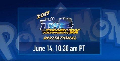 Pokken Tournament DX Invitational E3 2017