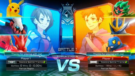 Pokken Tournament DX New 3 vs 3 Battles