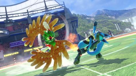 Pokken Tournament DX Nintendo Switch Decidueye Lucario