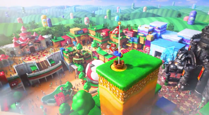 Universal Studios Reveals 'Super Nintendo World'