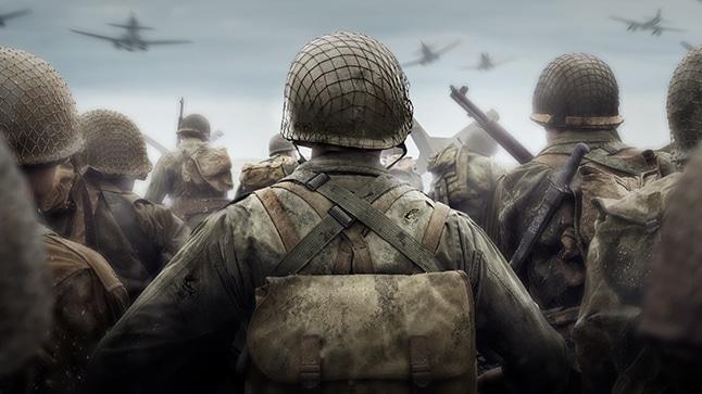 Call of Duty World War II, WW2, WWII, Sony E3 2017