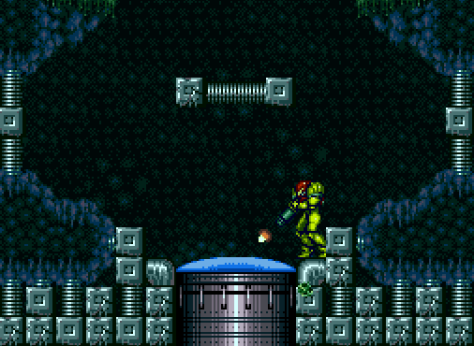 Super Metroid Floor Door