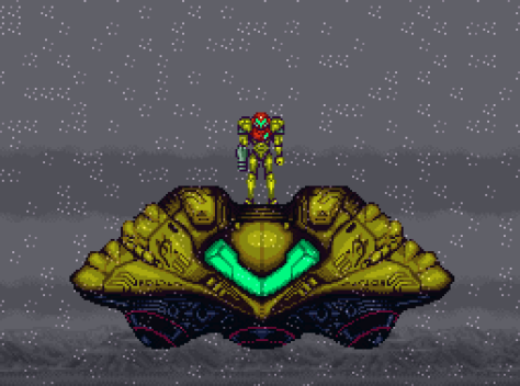 Super Metroid Planet Zebes