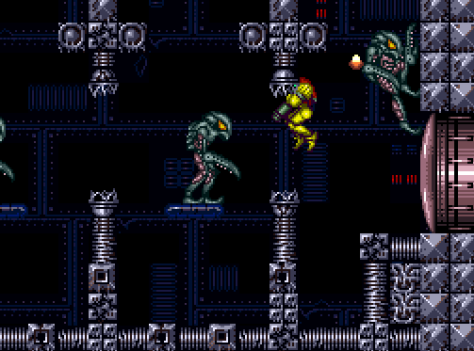 Super Metroid Space Pirate Attack