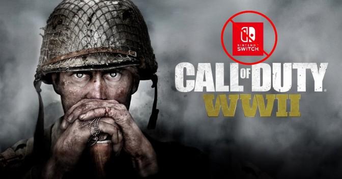 Sledgehammer Games confirms COD WWII not coming to Nintendo Switch