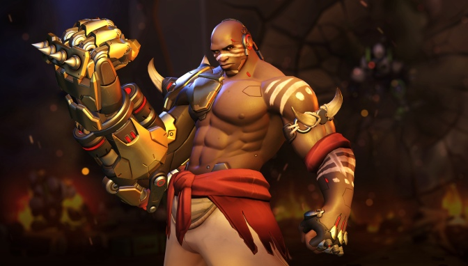 Doomfist announced by Blizzard, available on PTR