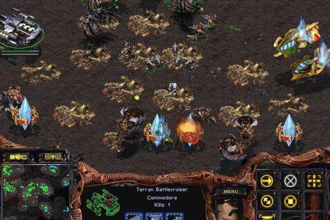 StarCraft 1, RTS, best