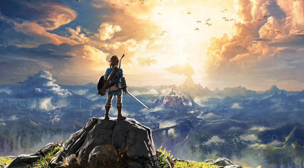 The Legend of Zelda Breath of the Wild Link Hyrule Open World