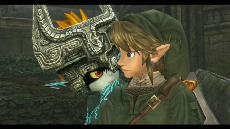 The Legend of Zelda Twilight Princess HD Link Midna Nintendo